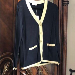 NEW - Tory Burch cardigan size XL